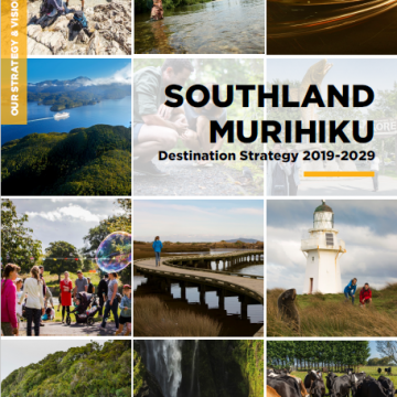 Southland Murihiku Destination Strategy