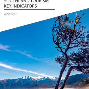 Southland Tourism Key Indicators - Jun 2019