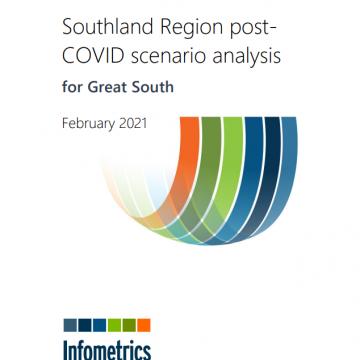 Southland Region post-COVID Scenario Analysis report