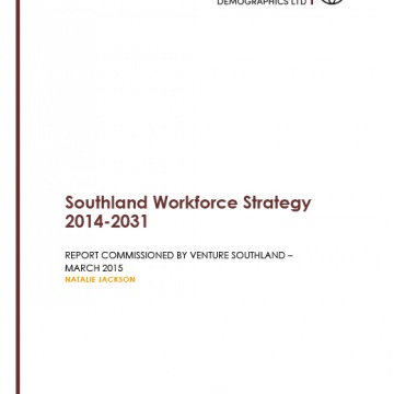 Southland Workforce Strategy 2014 - 2031